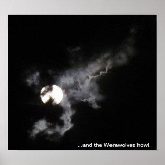 … y el aullido de los hombres lobos póster