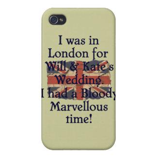 Y el boda de Kate iPhone 4 Carcasas
