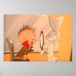 ™ y Elmer Fudd 2 de BUGS BUNNY Póster