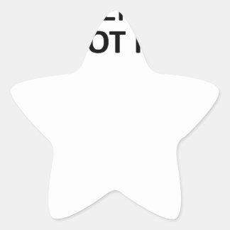 Y ENTONCES SATAN DIJO KM.png Pegatina En Forma De Estrella