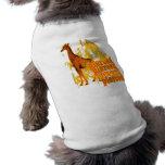 Y estaba tan camiseta de perro