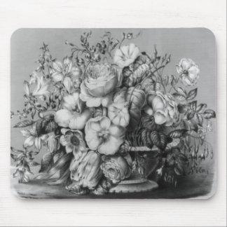 y, 'flores de la primavera tapete de ratón