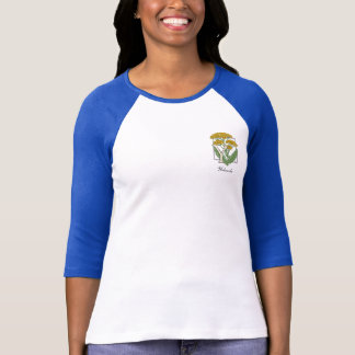 Y for Yarrow Flower Monogram T-Shirt