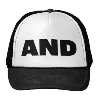 Y gorra del camionero del lema de la diversión