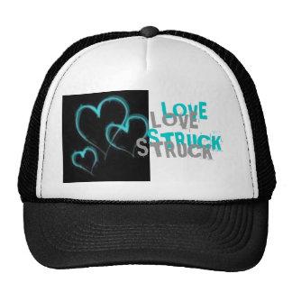 Y gris gorra pegado amor azul del camionero