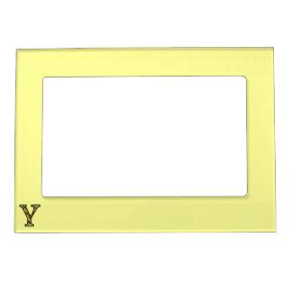 Y Illuminated Monogram Magnetic Photo Frame