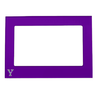 Y Illuminated Monogram Magnetic Picture Frame