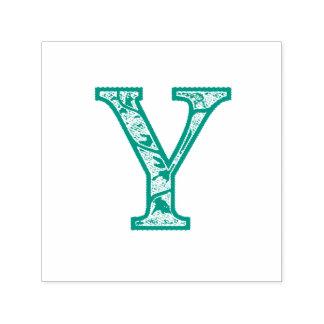 Y Illuminated Monogram Self-Inking Stamp