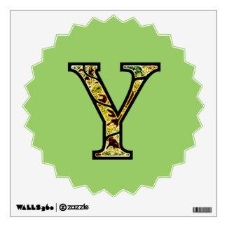 Y Illuminated Monogram Wall Sticker