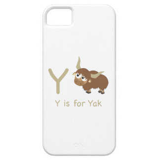 Y is for Yak iPhone 5/5S Cover