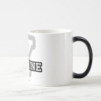 Y is for Yasmine Magic Mug