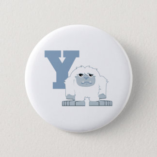 Y is for Yeti Button