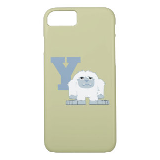 Y is for Yeti iPhone 7 Case
