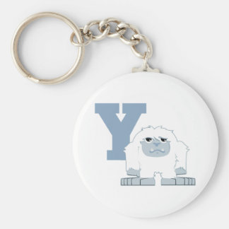 Y is for Yeti Keychain