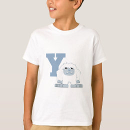 Y is for Yeti T-Shirt