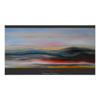 Y is for Yonder (montana landscape) print