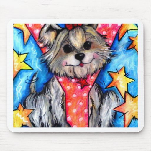 Y is for Yorkie Mousepad