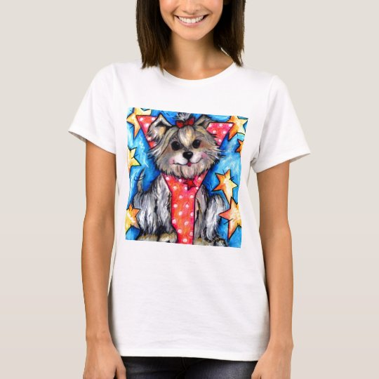 Y is for Yorkie T-Shirt