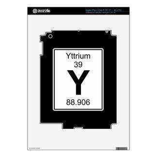 Y - Itrio iPad 3 Pegatinas Skins