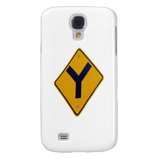 Y Junction Yellow Signpost Galaxy S4 Case