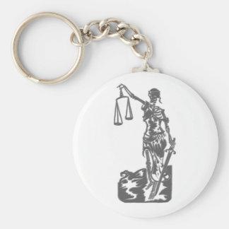 … y justicia para todos llavero redondo tipo pin
