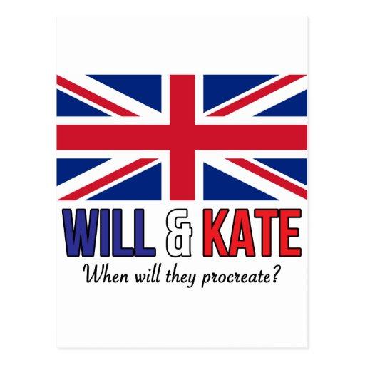 Y Kate Tarjeta Postal
