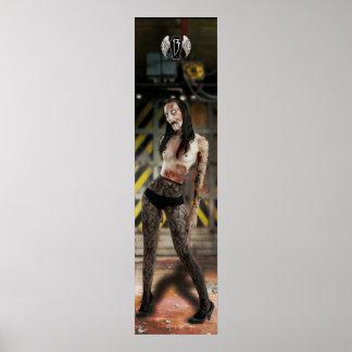 y la apocalipsis del zombi comienza posters
