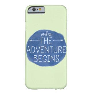 Y la aventura comienza tan funda para iPhone 6 barely there
