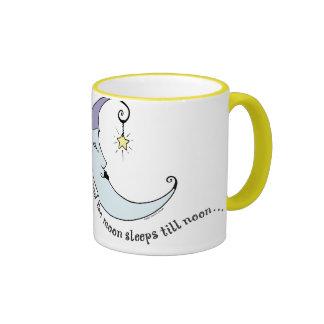 y la luna tazas de café