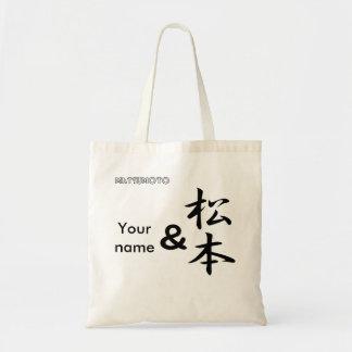 Y Matsumoto Bolsa Lienzo