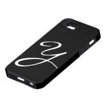 Y Monogram Black IPhone 5 Case