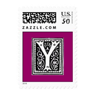 """""""Y"""" monogram stamp"""