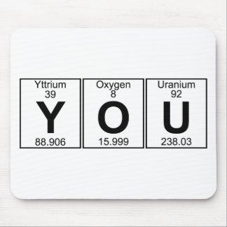 Y-O-U (you) - Full Mouse Pad