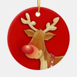 y ornamento del navidad del ángel adorno navideño redondo de cerámica