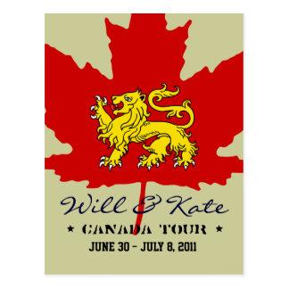 Y postal del viaje de Kate CANADÁ