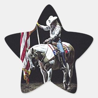 Y rogamos al pegatina de la estrella del caballo