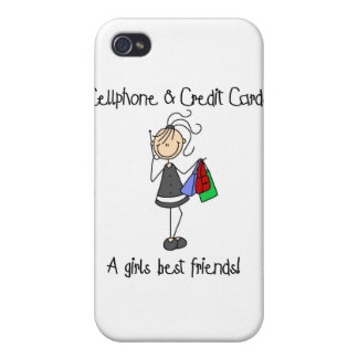 y tarjetas de crédito iPhone 4/4S carcasa