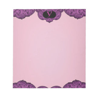 Y - The Falck Alphabet (Pink) Notepad