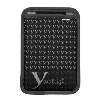 Y - The Falck Alphabet (Silvery) iPad Mini Sleeve