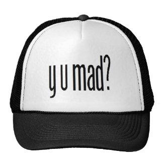 ¿y u enojada? gorra