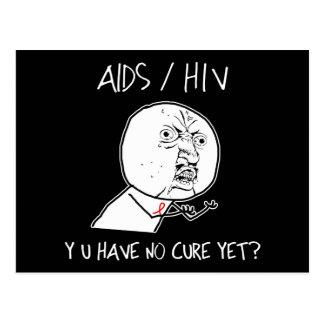 Y U Have No Cure Postcard