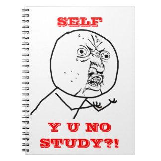 Y U NINGÚN estudio - cuaderno