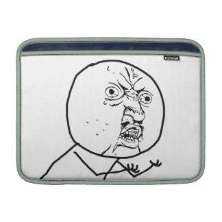 Y U NINGUNA - manga de aire de MacBook Fundas MacBook