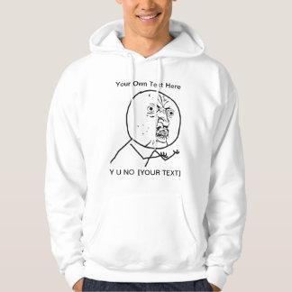 Y U NO - 2-sided Hoodie
