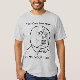 Y U NO - 2-sided T-Shirt
