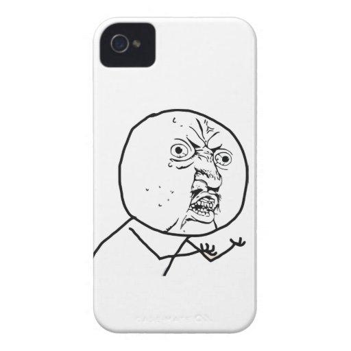 Y U NO - BlackBerry Bold 9700/9780 Case Blackberry Bold Cover
