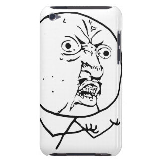 Y U No Guy Comic Face Barely There iPod Cover
