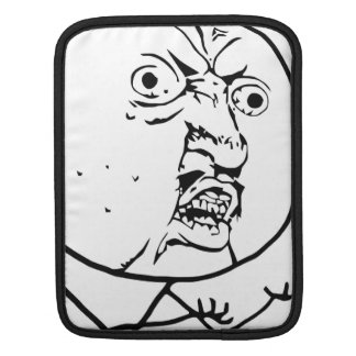 Y U No Guy Comic Face Sleeves For iPads