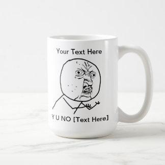 Y U NO - Mug