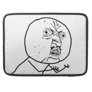 Y U NO (Original) - MacBook Pro Sleeve